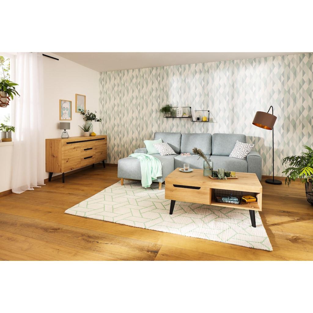 my home Tischvase »Nelli«, Mattierter Rand