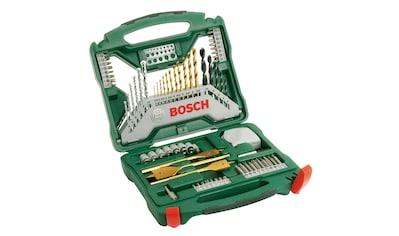 BOSCH Set: Bohrer -  und Bit - Set »X - Line Titanium 70«, 70 - tlg. kaufen