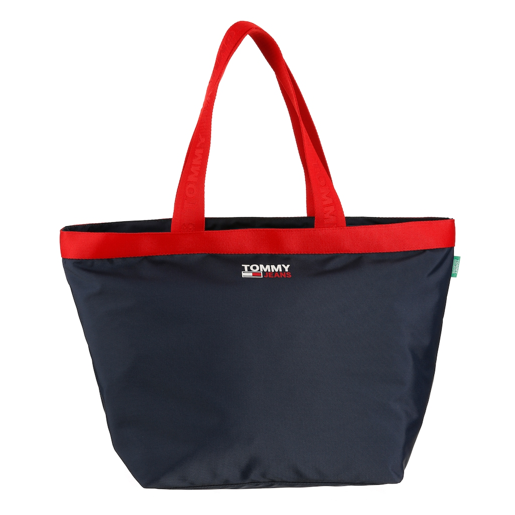Tommy Jeans Shopper »CAMPUS TOTE«, in schlichter Optik aus recycled Polyester