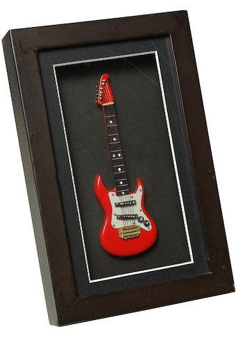 Ambiente Haus Dekofigur »E-Gitarre im Rahmen 22x14cm« kaufen