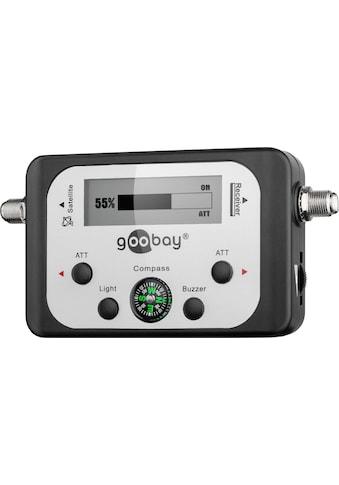 Goobay Satelliten - Finder mit digitaler Pegelanzeige »zum justieren von Sat Antennen« kaufen
