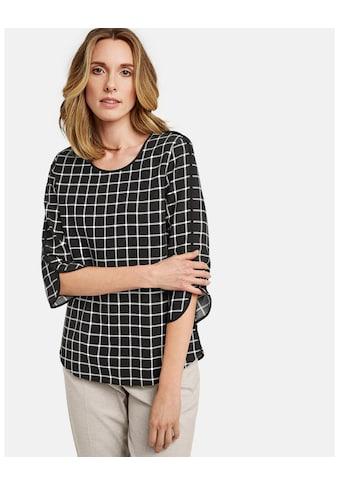 GERRY WEBER Bluse 3/4 Arm »3/4 Arm Blusenshirt« kaufen