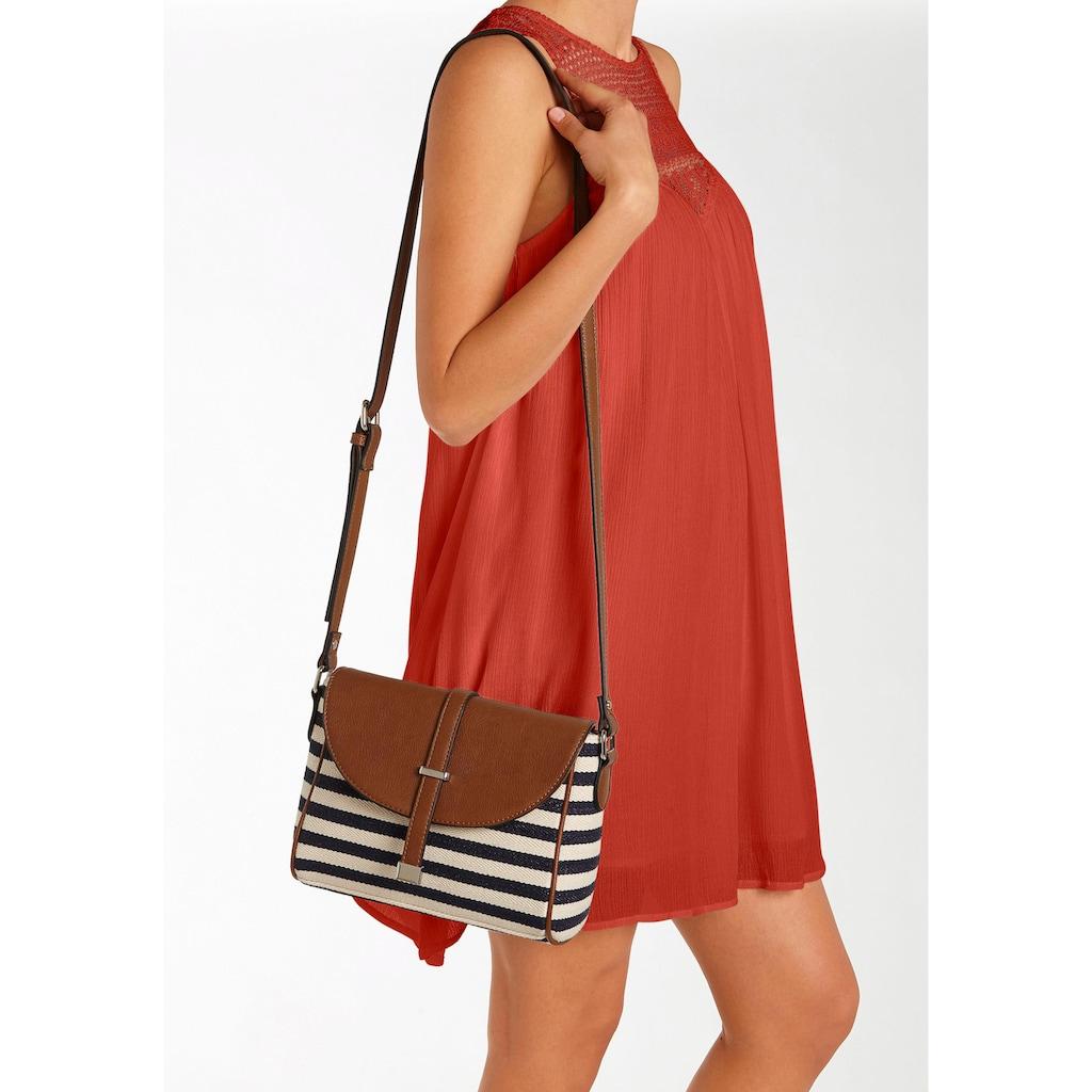 LASCANA Umhängetasche, Minibag mit Streifen