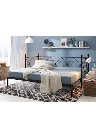 Home affaire Daybett »Jenny«, aus schönem Metall, mit ausziehbarer Liegefläche kaufen