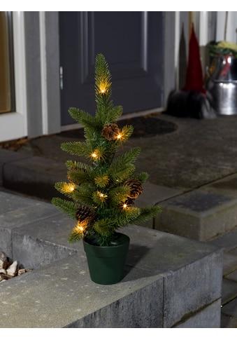 KONSTSMIDE Weihnachtsfigur, LED Weihnachtsbaum mit Tannenzapfen und Topf kaufen
