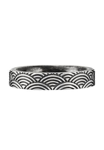 CAÏ Ring »925/- Sterling Silber oxidiert Wellen Japan« kaufen