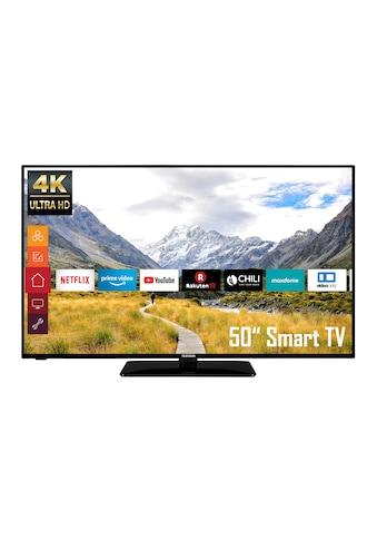 Telefunken D50U550B4CW LED - Fernseher (127 cm / (50 Zoll), 4K Ultra HD kaufen