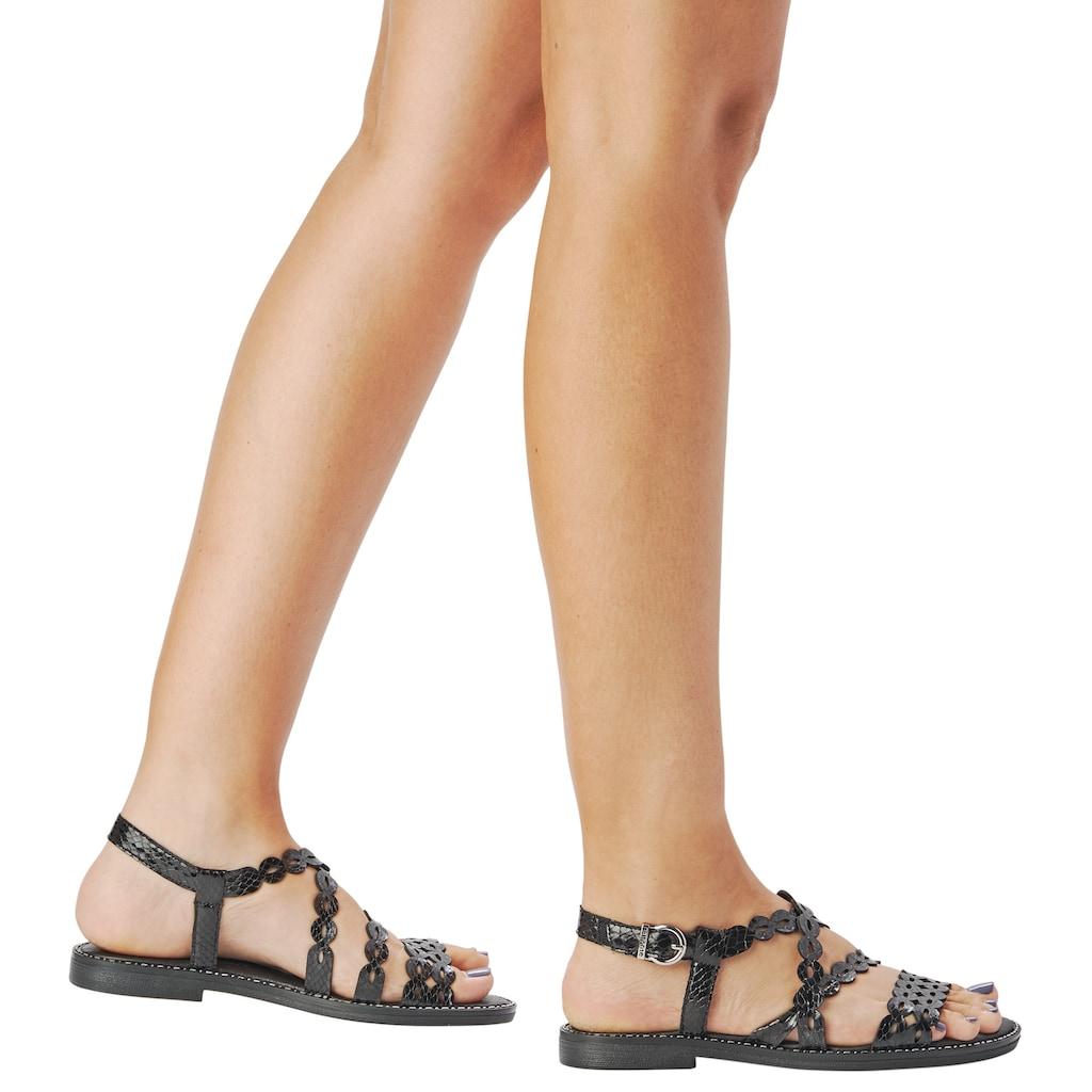 Remonte Sandale, mit feinen Riemchen