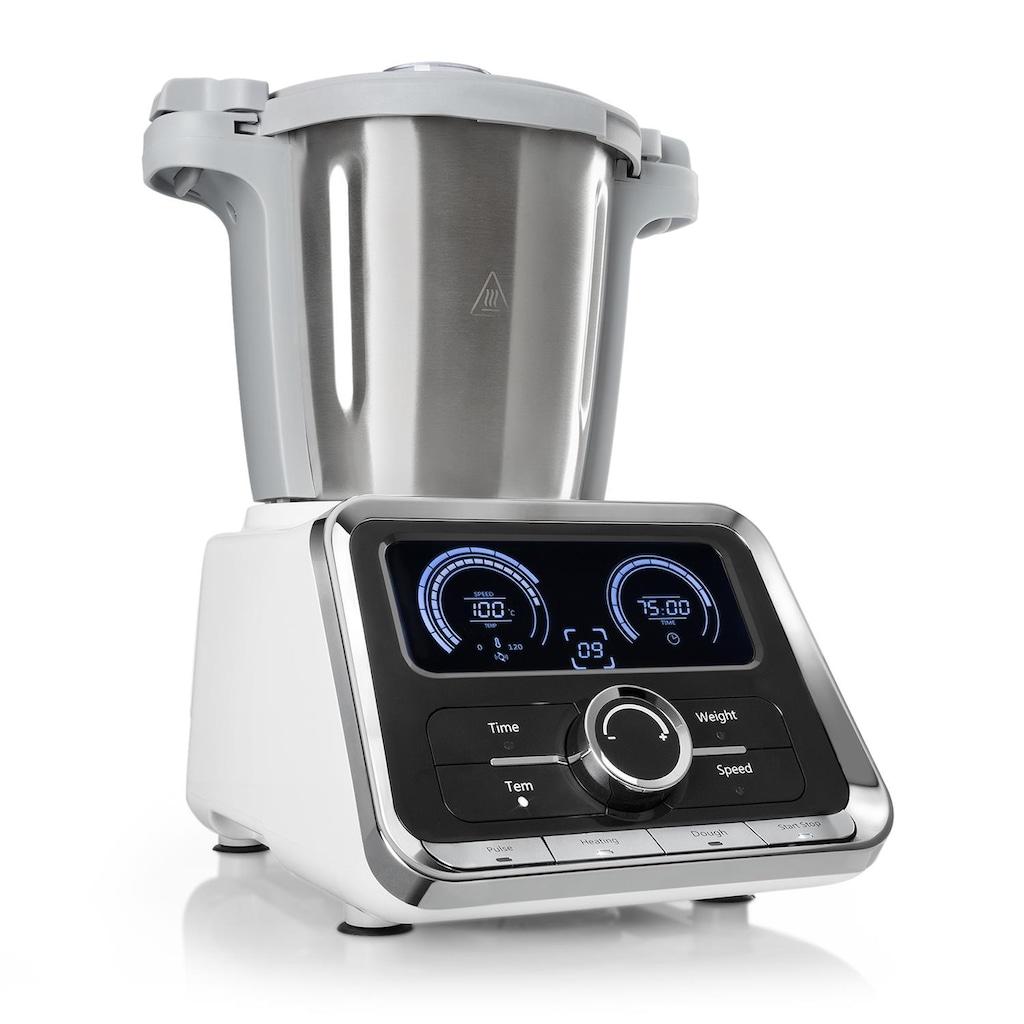 Klarstein Küchenmaschine 500W/1000W 2,5l Edelstahl- Mixtopf