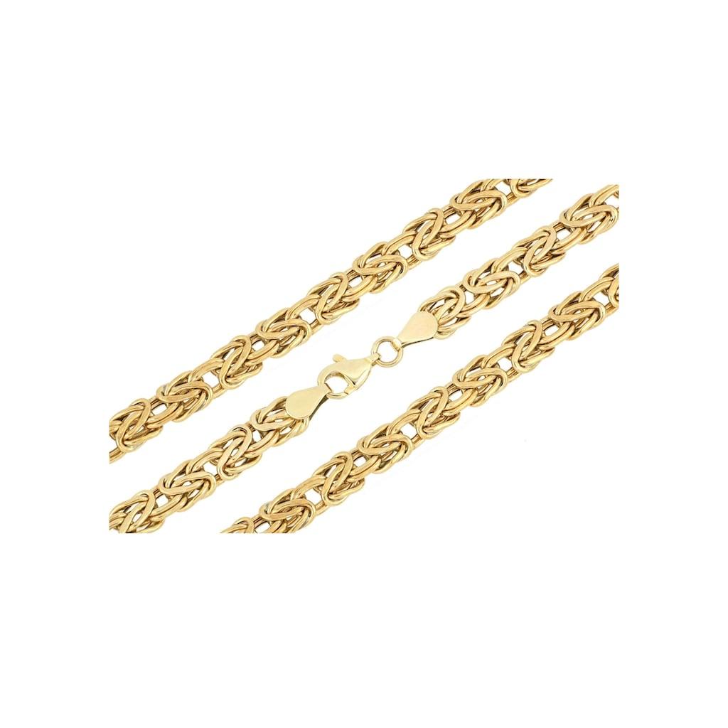 Firetti Königskette »6 mm breit, glanz, einseitig bombiert«