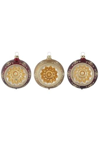 """Thüringer Glasdesign Weihnachtsbaumkugel """"Opulent"""" kaufen"""
