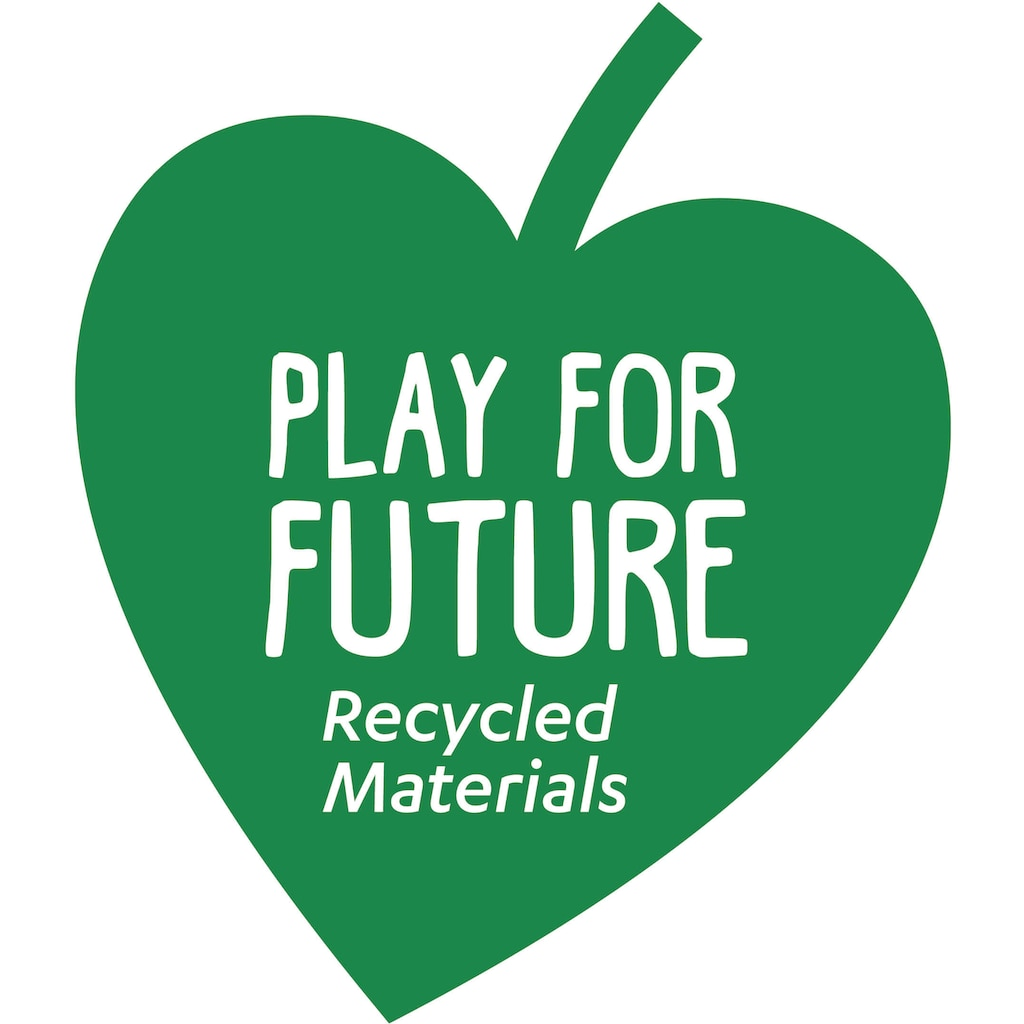 Clementoni® Rutscherauto »Baby Clementoni Play for Future - Mein erstes Auto«, aus recyceltem Material
