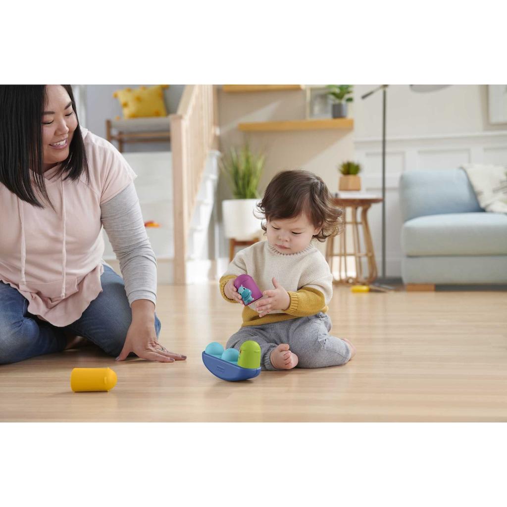 Fisher-Price® Greifspielzeug »Bewegung Motorik-Spielzeug Geschenkset«, mit 3 Aktivitätsspielzeugen