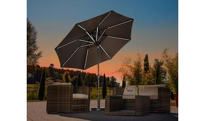 Schneider Schirme Sonnenschirm »Blacklight it«, ohne Schirmständer kaufen