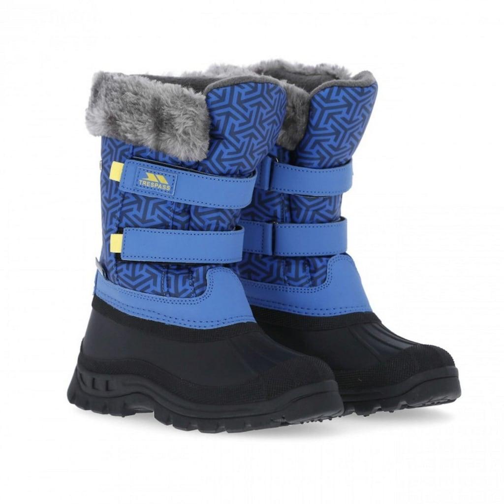 Trespass Winterstiefel »Kinder Schneestiefel Vause mit Klettverschluss«