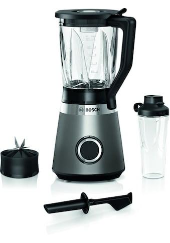 BOSCH Standmixer »MMB6174S VitaPower«, 1200 W, 30.000 U/Min, ThermoSafe Glasbehälter... kaufen