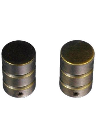 Liedeco Gardinenstangen-Endstück »Zylinder mit Rille«, für Gardinenstangen Ø 16 mm kaufen