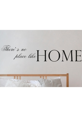 QUEENCE Wandtattoo »There's no place like Home«, dunkelgrau, 120 x 25 cm kaufen