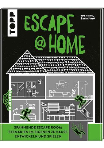Buch »Escape at Home. Escape Rooms selber bauen / Jens Mekiska, Bastian Schenk« kaufen