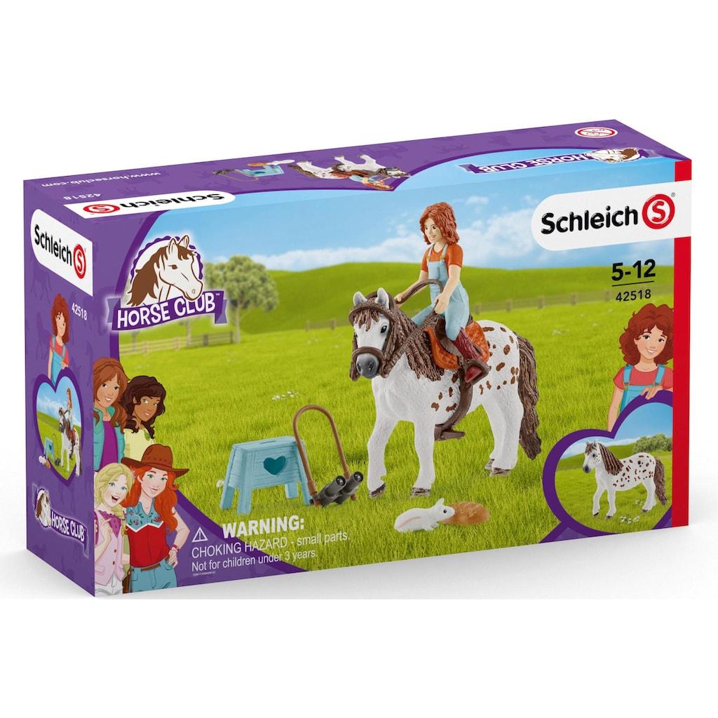 Schleich® Spielfigur »Horse Club Mia & Spotty (42518)«