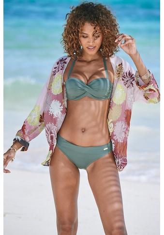 LASCANA Bikini-Hose »Italy«, mit Umschlagbund kaufen
