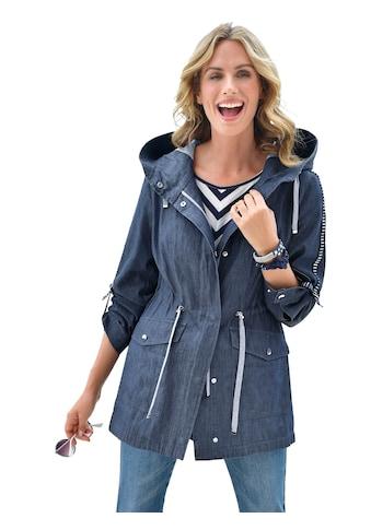 Ambria Jacke in cooler Denim - Optik kaufen