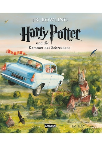 Buch Harry Potter und die Kammer des Schreckens (farbig illustrierte Schmuckausgabe) (Harry Potter 2) / J.K. Rowling; Klaus Fritz; Jim Kay kaufen