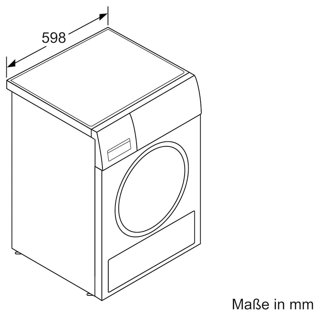 SIEMENS Wärmepumpentrockner »WT47R400«, 8 kg