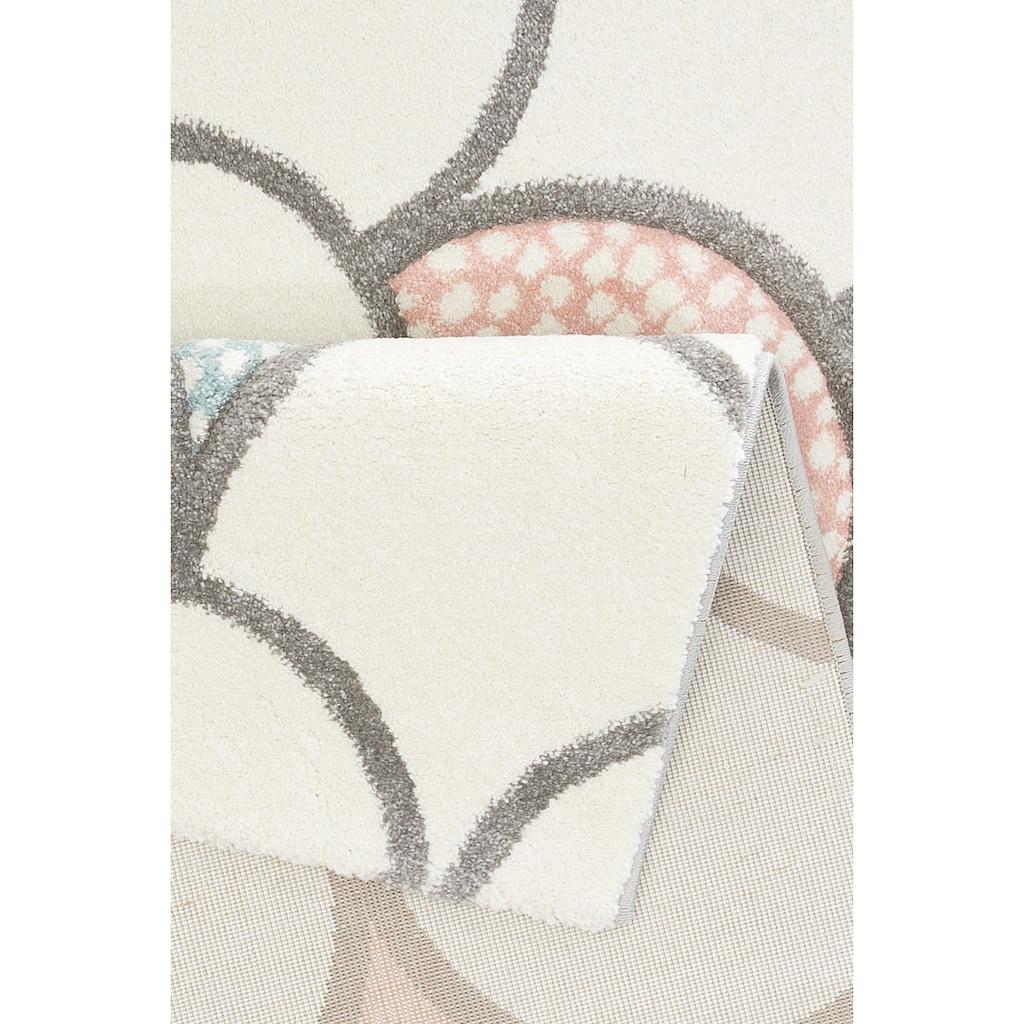 Lüttenhütt Kinderteppich »Gila«, rechteckig, 13 mm Höhe, Pastellfarben