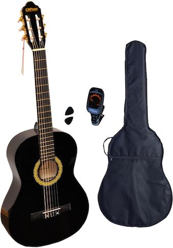 Clifton Konzertgitarre »Solo«, 4/4, Komplettset kaufen