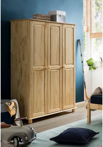 Home affaire Kleiderschrank »Chur«, Gefertigt aus massivem Kieferholz kaufen