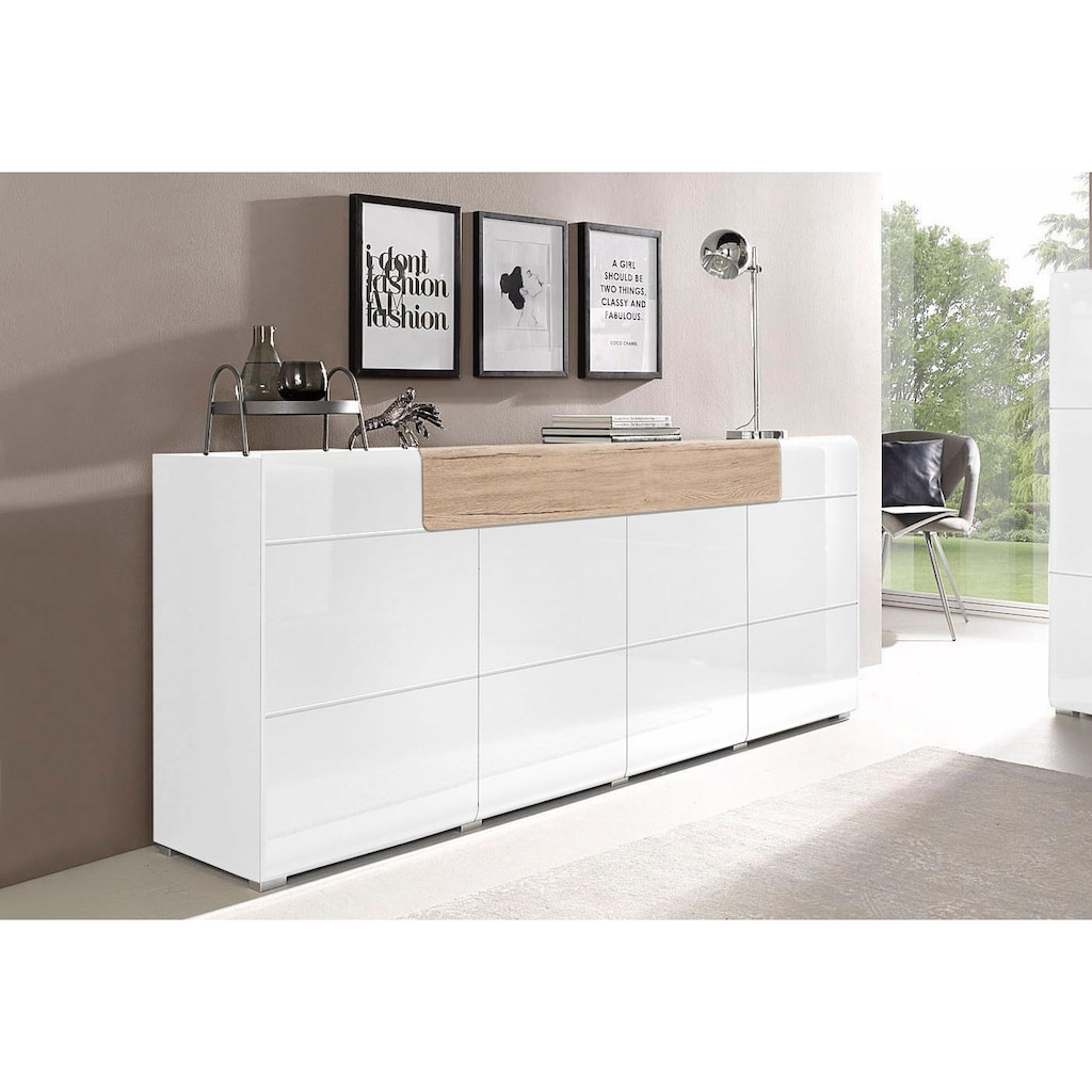 Helvetia Sideboard »Toledo«, Breite 208 cm