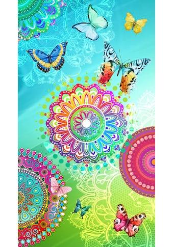 hip Strandtuch »Mystic«, (1 St.), mit Mandalas und Schmetterlingen kaufen