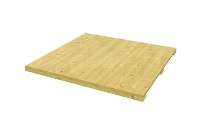 SKANHOLZ Fußboden für Gartenhäuser »CrossCube Gr. 3«, BxT: 239x239 cm kaufen