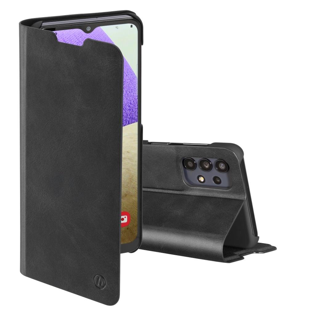 """Hama Smartphone-Hülle »Smartphone-Booklet Tasche«, """"Guard Pro"""" für Samsung Galaxy A32 5G Schwarz"""