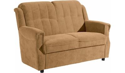 Max Winzer® 2-Sitzer »Manhattan«, im Reliefsamt, Breite 133 cm kaufen