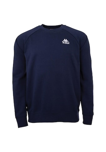 Kappa Sweatshirt »SWEATSHIRT«, mit angesagtem Rundhalsausschnitt kaufen