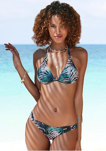 LASCANA Bikini-Hose »Reese«, mit seitlichen Zierringen kaufen