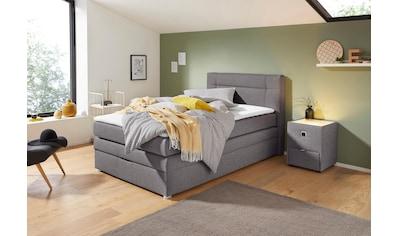 Jockenhöfer Gruppe Boxspringbett, mit Bettkasten und Topper kaufen