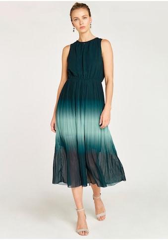 Apricot Chiffonkleid »Ombre Grecian Neck Midi Dress«, mit Ombre-Verlauf kaufen