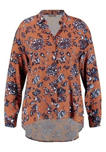 Samoon Langarmbluse »Hemdbluse mit Blumen - Print« kaufen