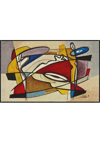 wash+dry by Kleen-Tex Läufer »steady composition«, rechteckig, 7 mm Höhe, In- und... kaufen