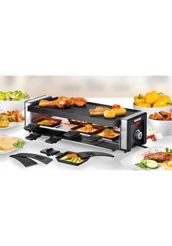Unold Raclette Finesse 48735, 8 Raclettepfännchen, 1100 Watt kaufen