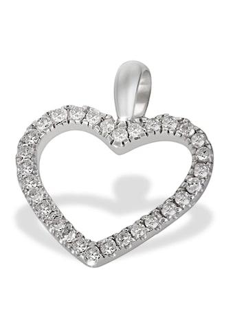 goldmaid Anhänger Herz 585/- Weißgold 30 Diamanten 0,16 ct. kaufen