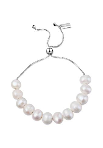AILORIA Armband »MICHIRU Armband Silber/weiße Perle«, Größenverstellbar kaufen
