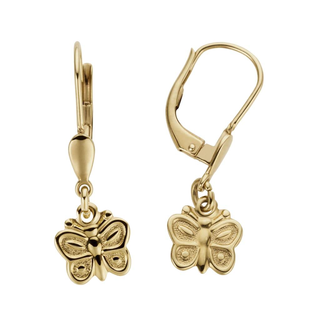 Firetti Paar Ohrhänger »Schmetterlinge, im Glanzdesign«, Made in Germany