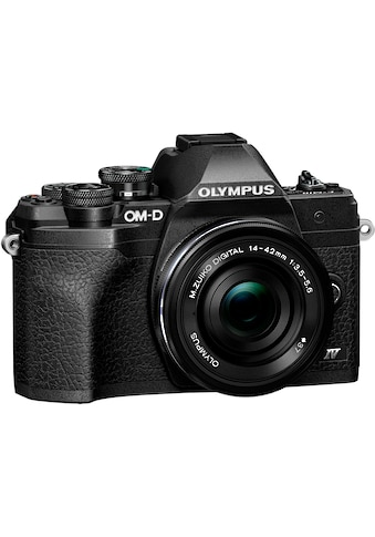 Olympus Systemkamera »E-M10 Mark IV«, M.Zuiko Digital ED 14‑42mm F3,5-5,6 EZ Pancake,... kaufen