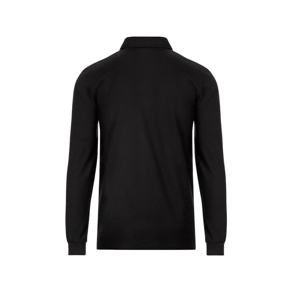 Trigema Poloshirt, mit Hemdkragen