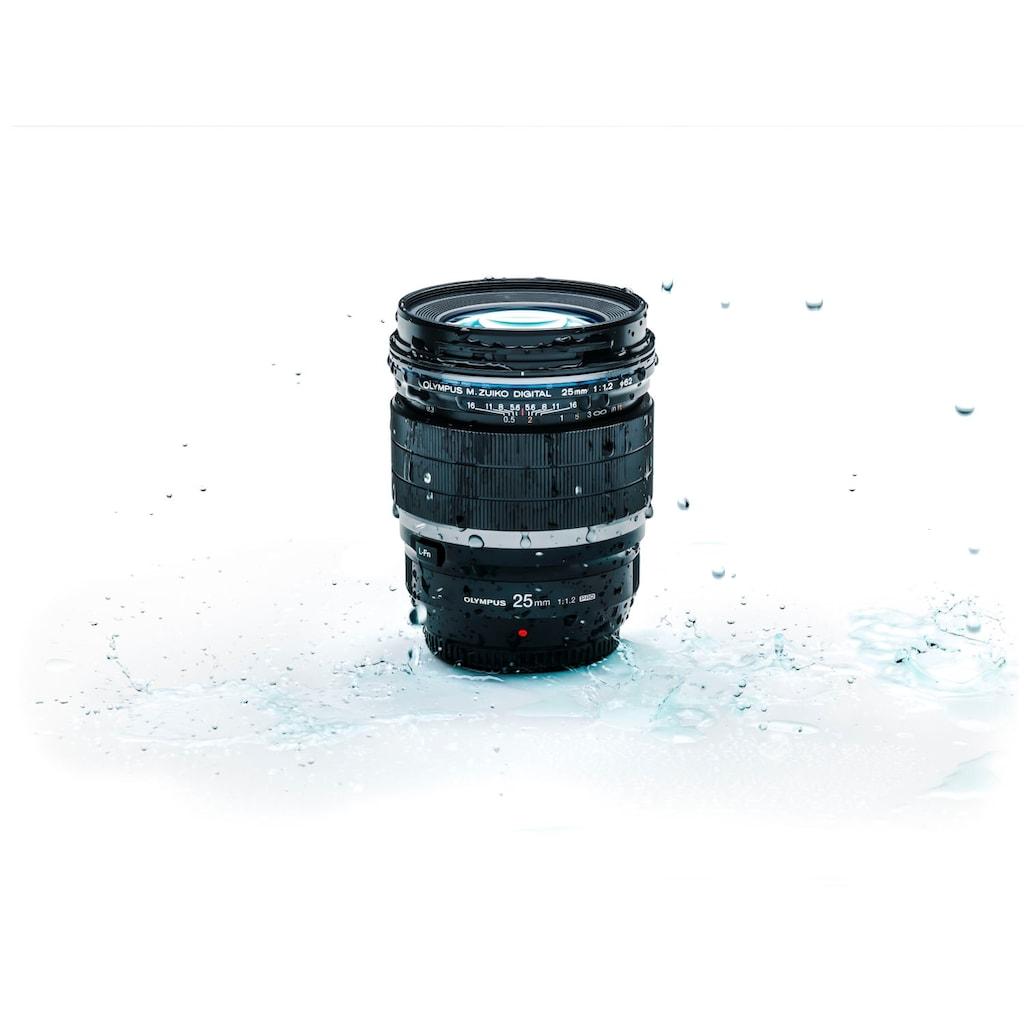 Olympus Festbrennweiteobjektiv »M.ZUIKO DIGITAL ED 25 mm F1.2 PRO«