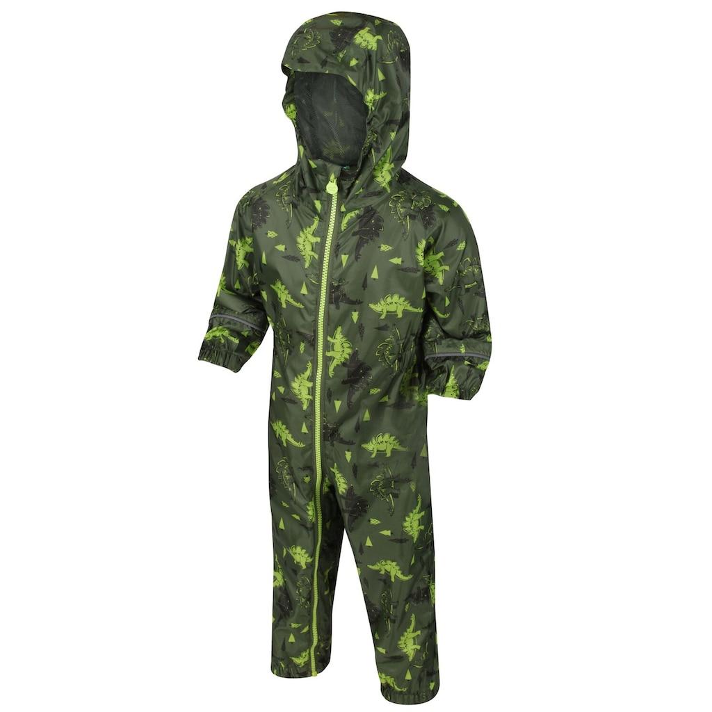 Regatta Overall »Baby Unisex Pobble Muster Regenanzug«
